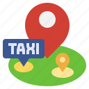 and, location, map, maps, placeholder, pointer, taxi