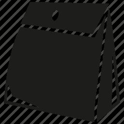 bag, tea bag icon