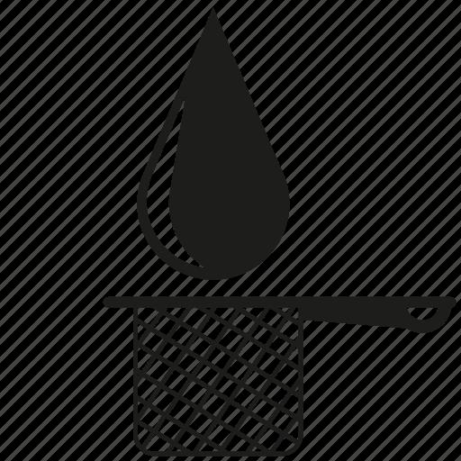 filter, sieve, tea drop, water drop icon