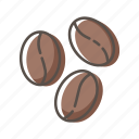 beans, coffee, seed icon