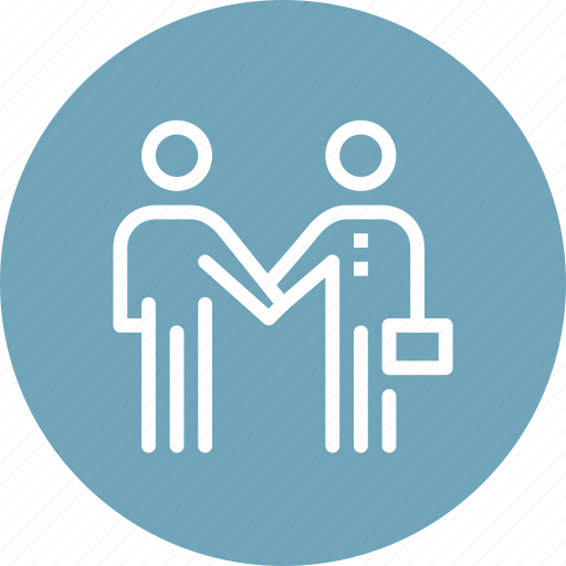agreement, business, contract, greeting, handshake, partnership, people icon