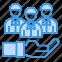 business, management, promote, team, teamwork, work