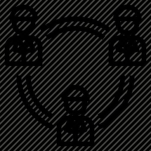 Business, management, team, teamwork, work icon - Download on Iconfinder