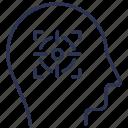 aim, goals, intention, plan, target icon