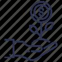 avail, benefits, gain, mileage, profit icon