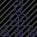 business, employee, employee skills, meeting, skills icon