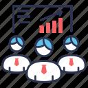efficiency, performance, team, team efficiency, team performance icon