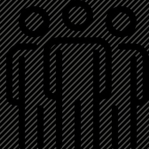 client, employee, leader, staff, team, teamwork icon