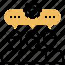 alliance, collaboration, cooperation, partnership, teamwork icon
