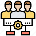 group, information, member, profile, team icon