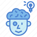 brainstorm, brainstorming, business, creativity, idea, think icon