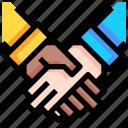 business, group, management, partner, team, teamwork icon