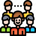 account, avatar, group, people, team, user icon