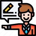 consultant, document, help, information, question, service, support icon