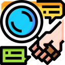 data, effective, experiment, research icon