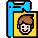 call, communication, facetime, interface, phone, telephone, video icon