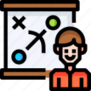 business, currency, finance, graph, marketing, planning, strategy icon