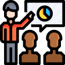 chat, communications, conversation, graph, message, report icon