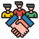 handshake, man, business, network, teamwork
