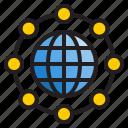 world, global, business, organization, diagram