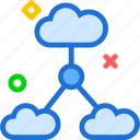 accessnetwork, cloud, intranet, lan, online, upload, web icon