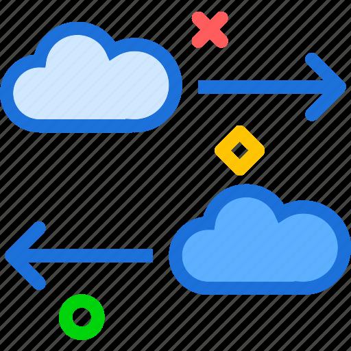 Accesstransfer, cloud, online, upload icon - Download on Iconfinder