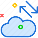 accessdistribute, cloud, online, upload icon