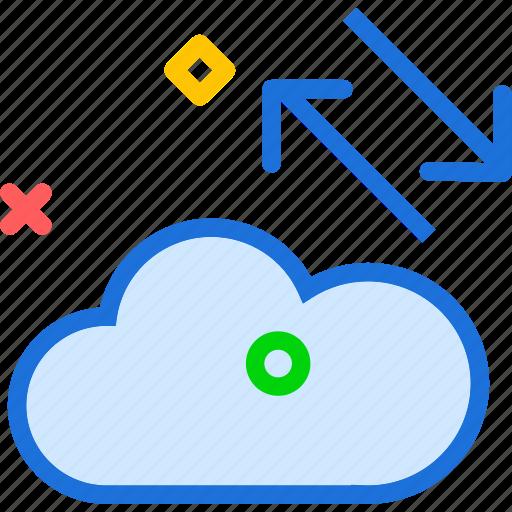 accessdistribute, cloud, online, upload icon