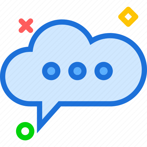 bubble, chat, communication, mail, message, text icon