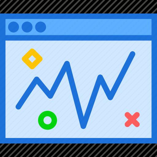 analysis, browser, internet, intranet, server, web icon