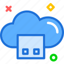accessusb, cloud, memory, online, plug, stick, upload icon