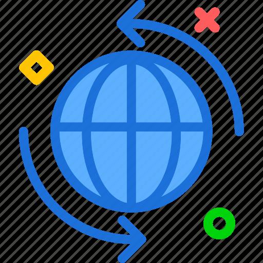 internet, offline, online, web icon
