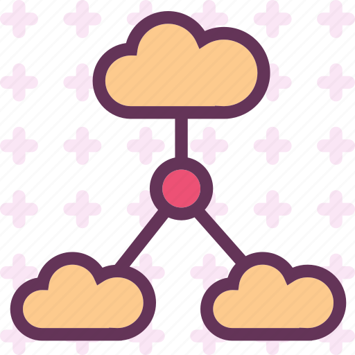 accessnetwork, cloud, intranet, lan, online, upload, web icon