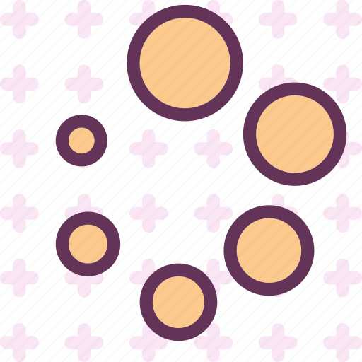 circles, form, loading, shapes, structure icon
