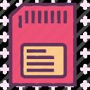 device, memory, micro, sdcard, stick icon