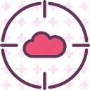 accesstarget, cloud, online, upload icon