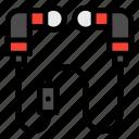 audio, buds, ear, earphone icon
