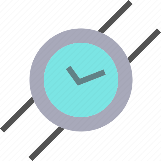 Clock, smartwatchcircle, watch, wrist icon - Download on Iconfinder