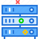 computer, device, online, pc, servers icon
