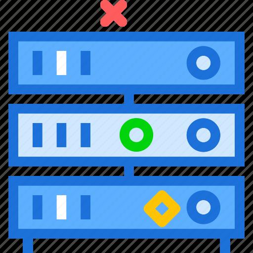 computer, device, online, pc, servers icon