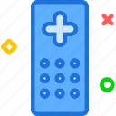 commandold, control, remote, tv icon