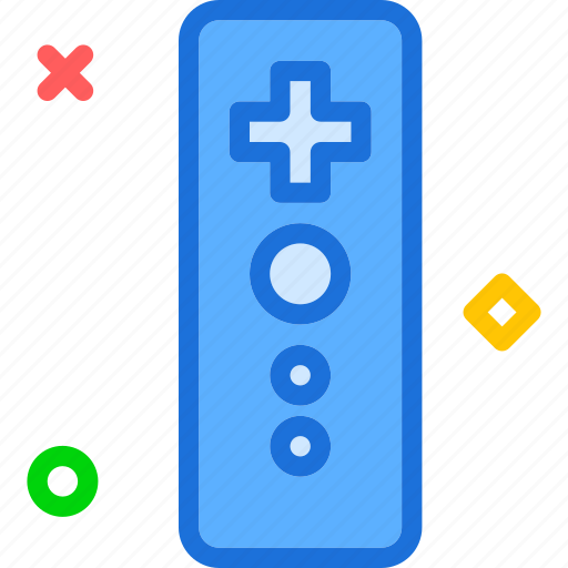 controler, entertainment, games, joystick, remote, wii icon
