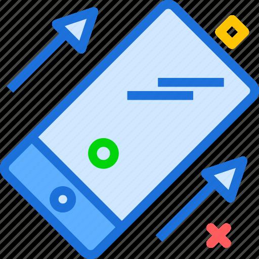 devicestilt, mobile, phone icon