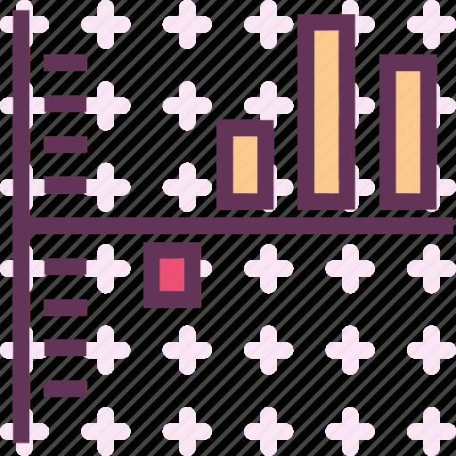 chart, statistics, stats, stick icon