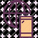 coonection, internet, offline, online, web icon