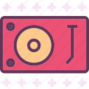 mix, music, player, songs, sound, vinyl icon