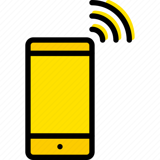 device, gadget, phone, ringing, technology icon