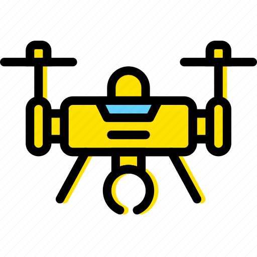 device, drone, gadget, technology icon