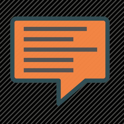 chat, description, network, social, square icon