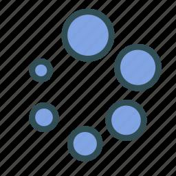 circle, processing, think, waiting icon
